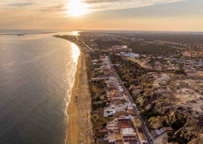 Vista aérea Casas de Bonares