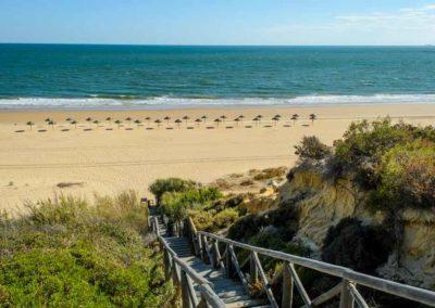 Bajada Playa del Parador de Mazagón